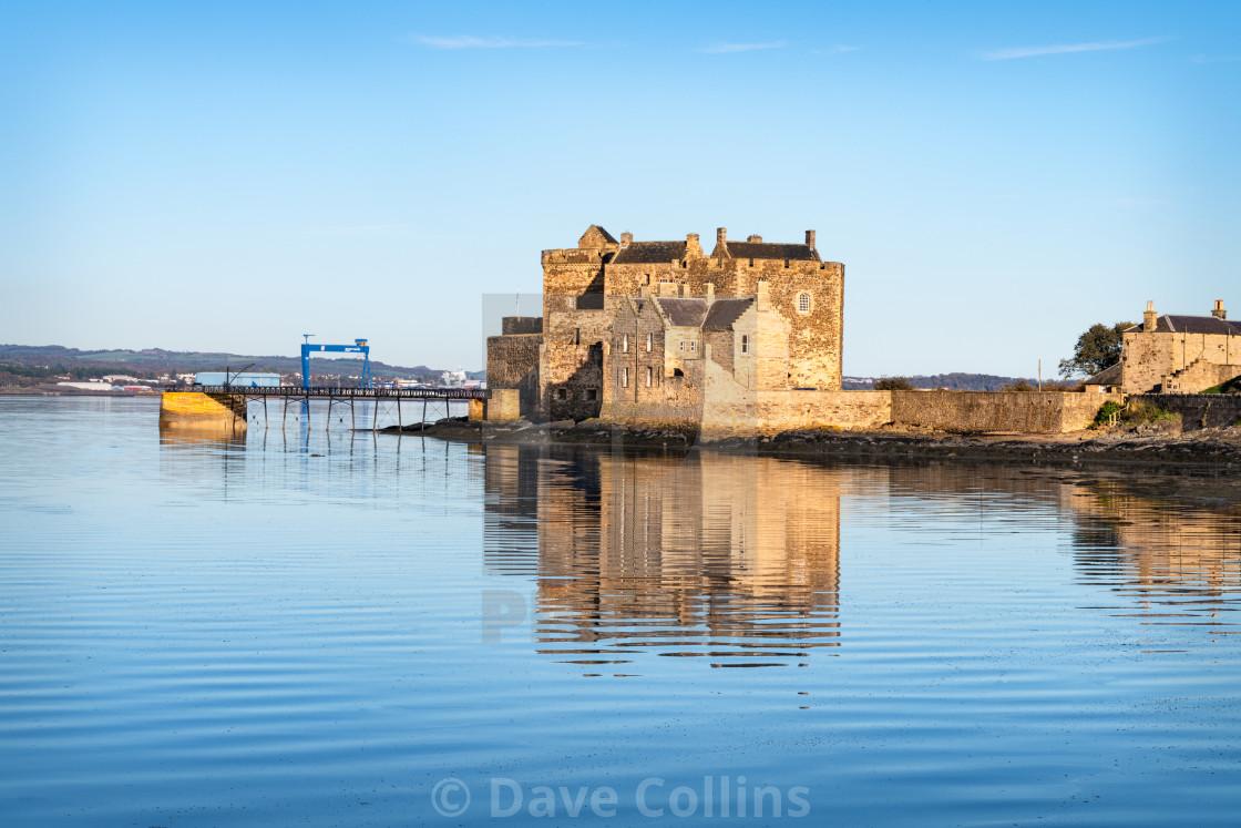 """Blackness Castle, Scotland"" stock image"