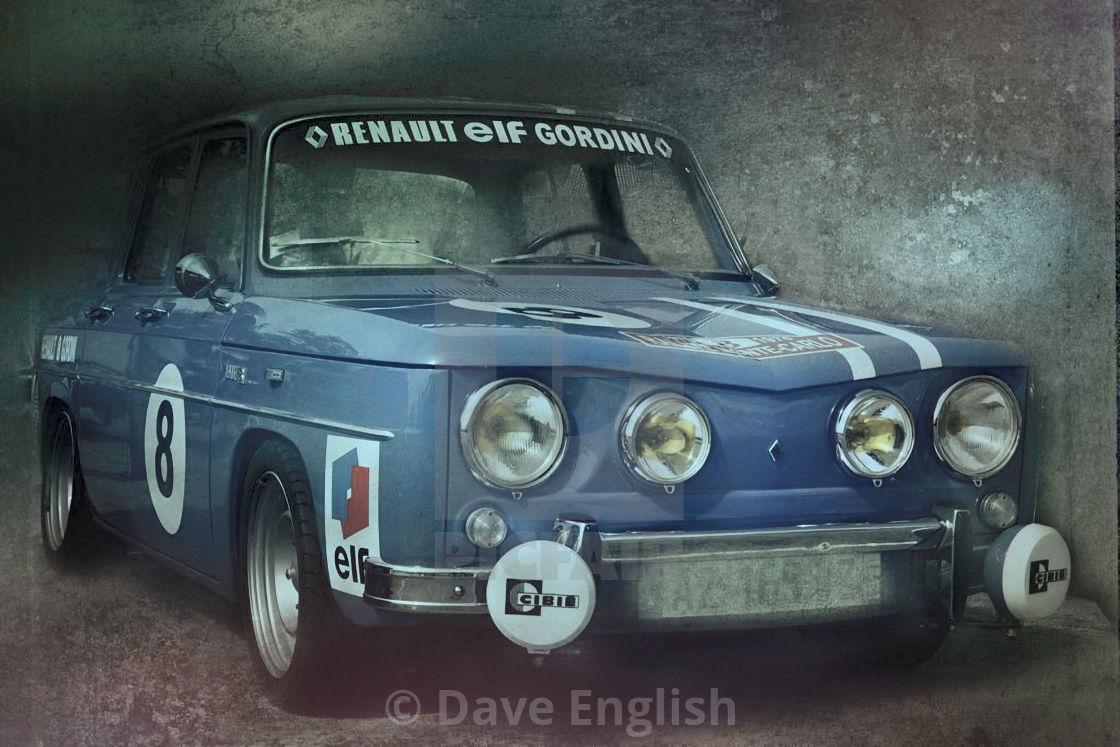 """Renault Gordini"" stock image"