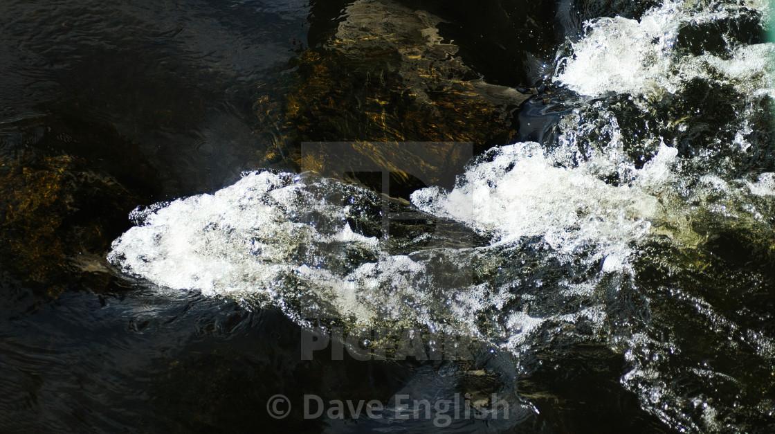 """Rushing Water."" stock image"