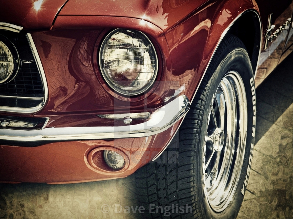 """""""Classic Mustang"""" stock image"""