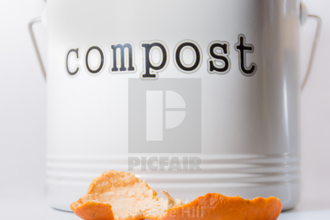 """Compost bin"" stock image"