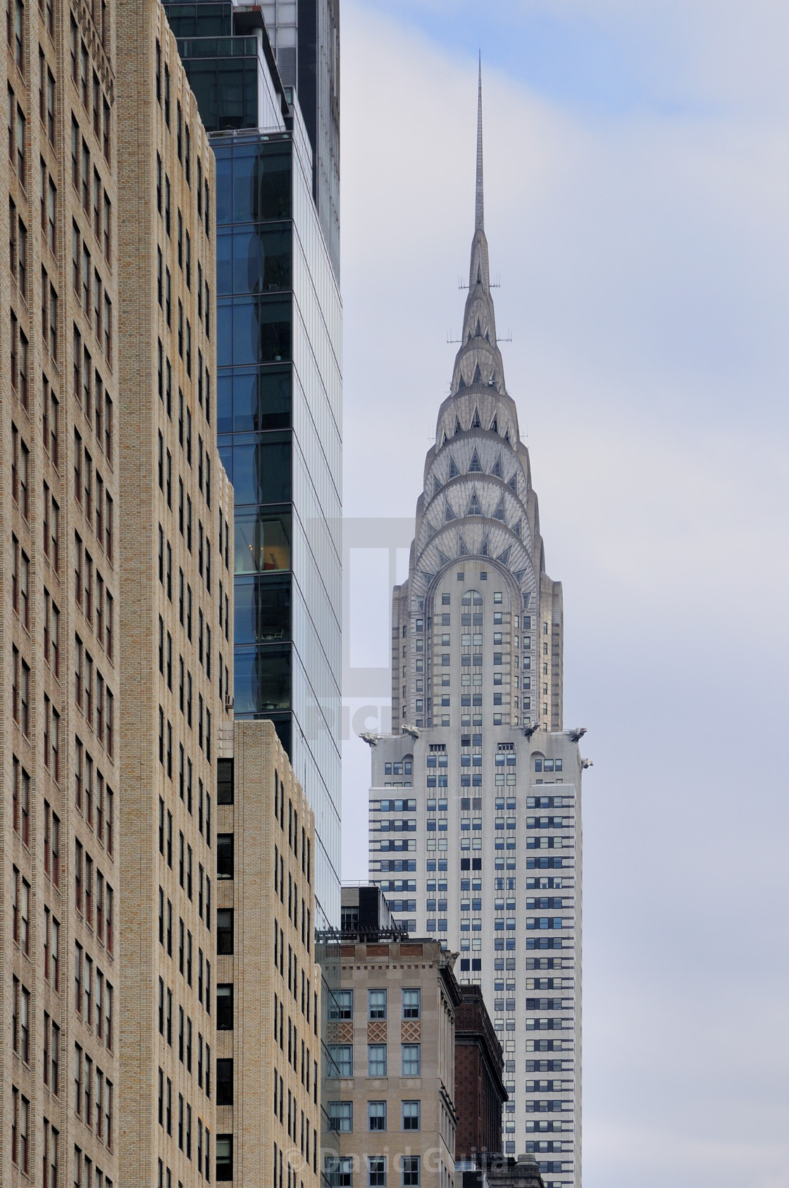 """Chrysler Building"" stock image"