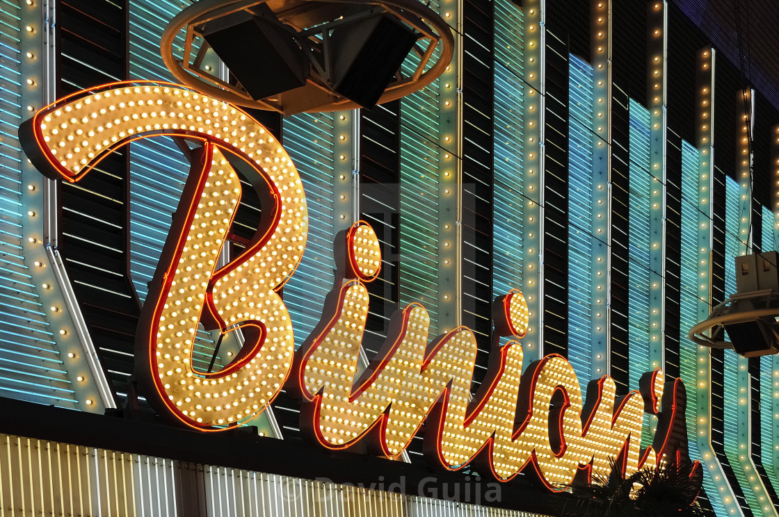 """Binion's"" stock image"