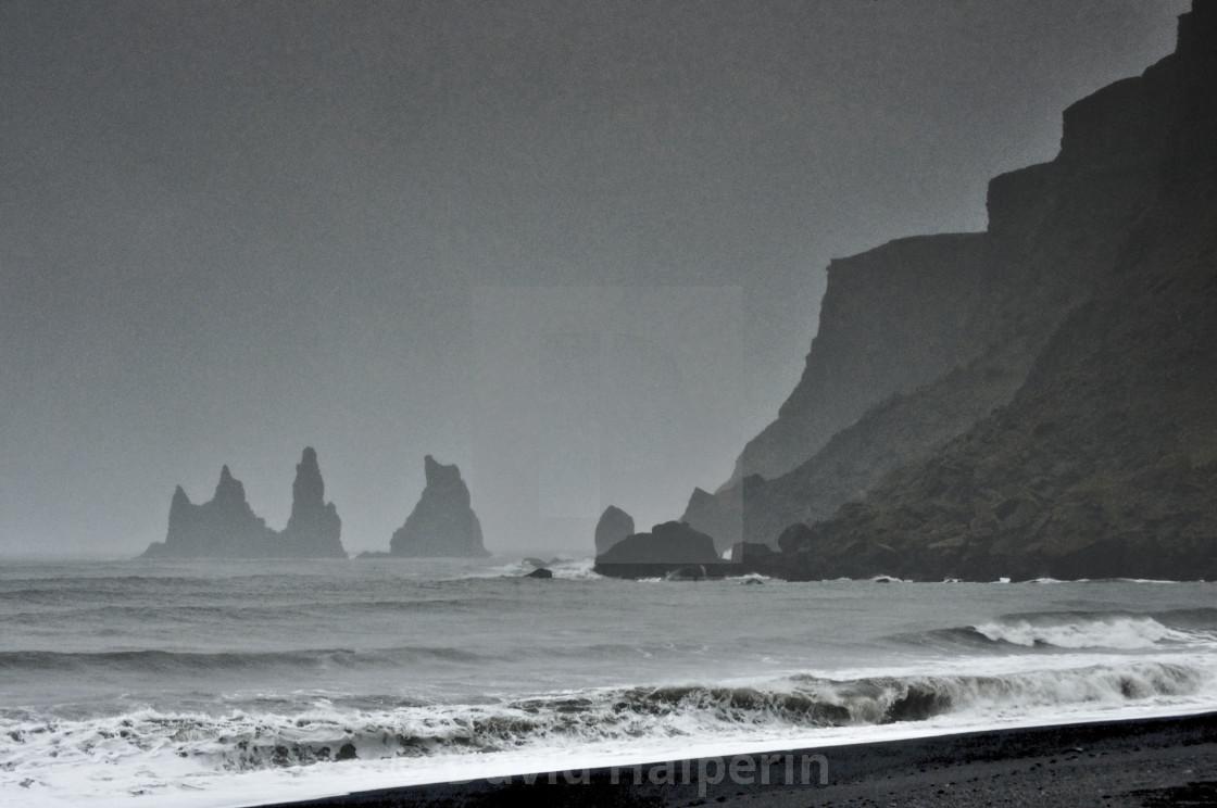 Reynisdrangar rock pillars