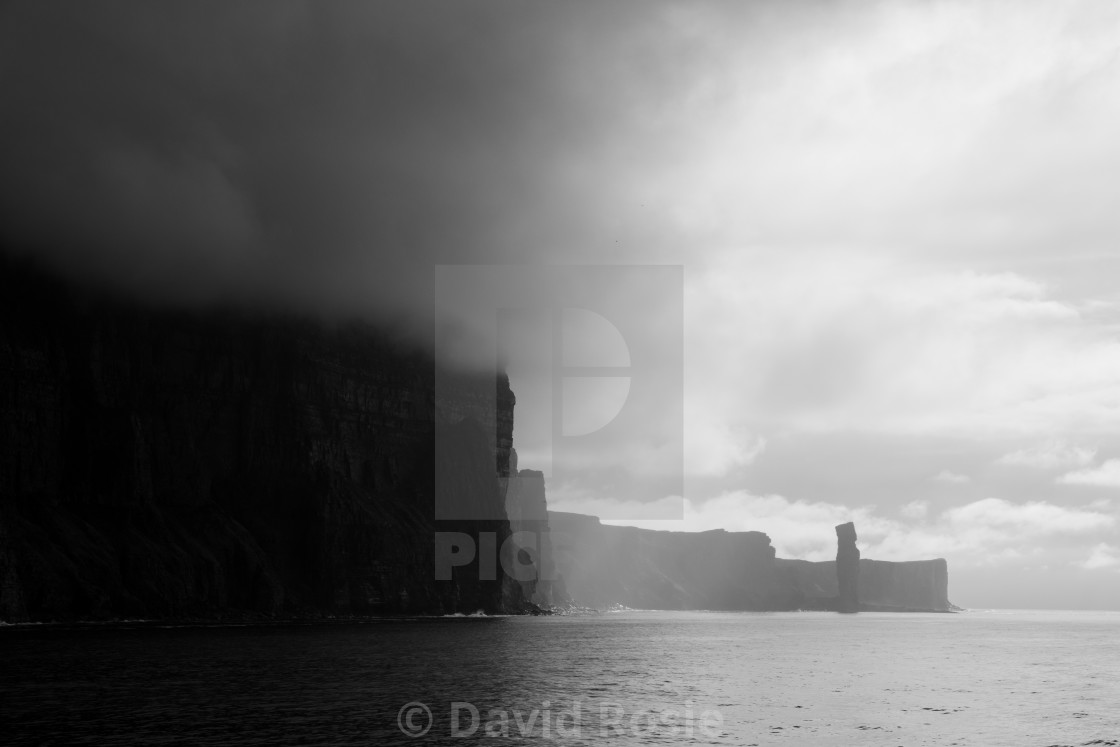 """Old Man of Hoy"" stock image"