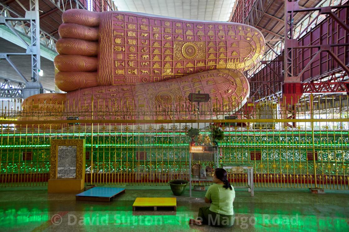 """""""Yangon, Myanmar"""" stock image"""