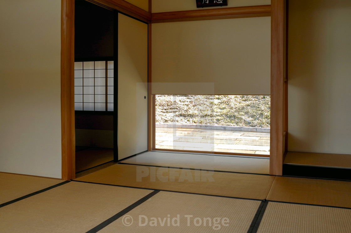 """Japanese room"" stock image"