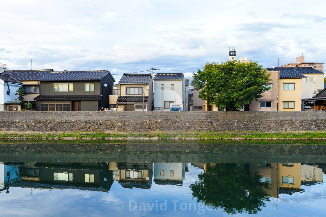 """Japanese Homes"" stock image"