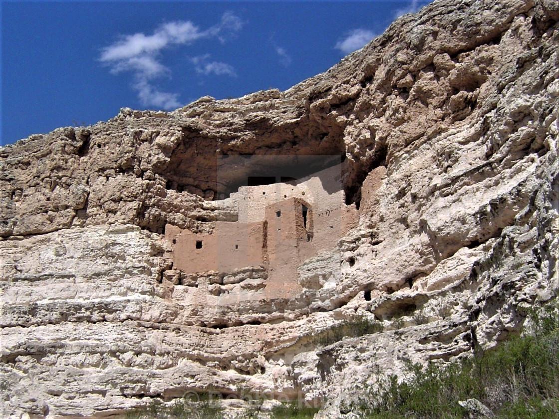 """""""Montezuma Castle National Monument USA"""" stock image"""