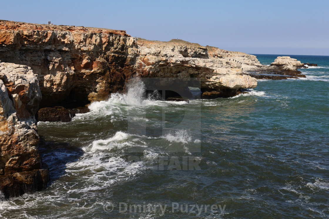 """Rocky coast"" stock image"