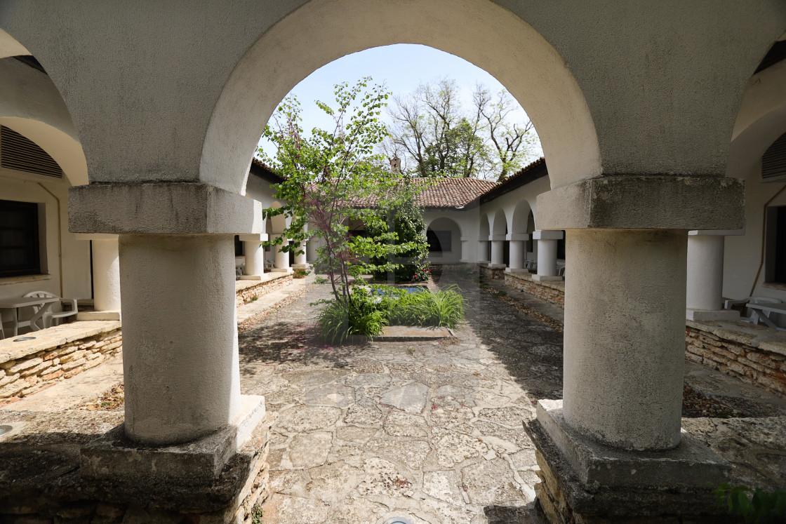 """Queen Maria palace in Balchik"" stock image"