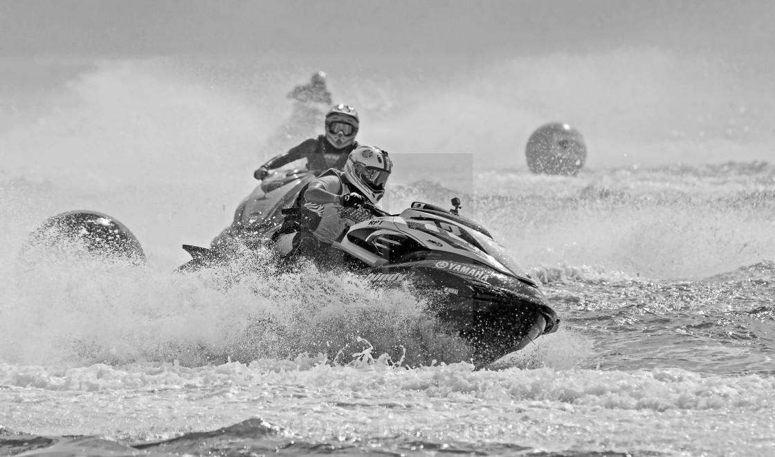 """Jet Ski Racers"" stock image"