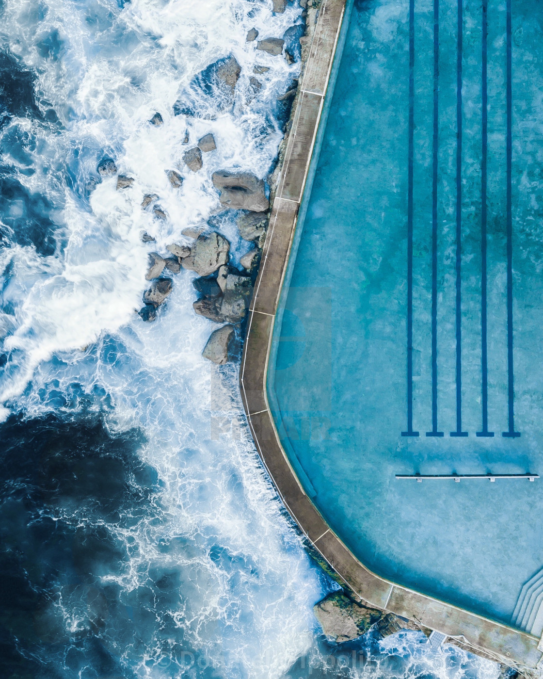 """BRONTE POOL"" stock image"