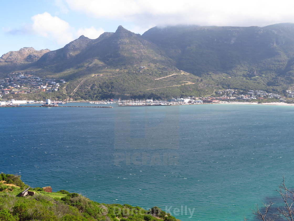 """""""Hout Bay near Cape Town"""" stock image"""