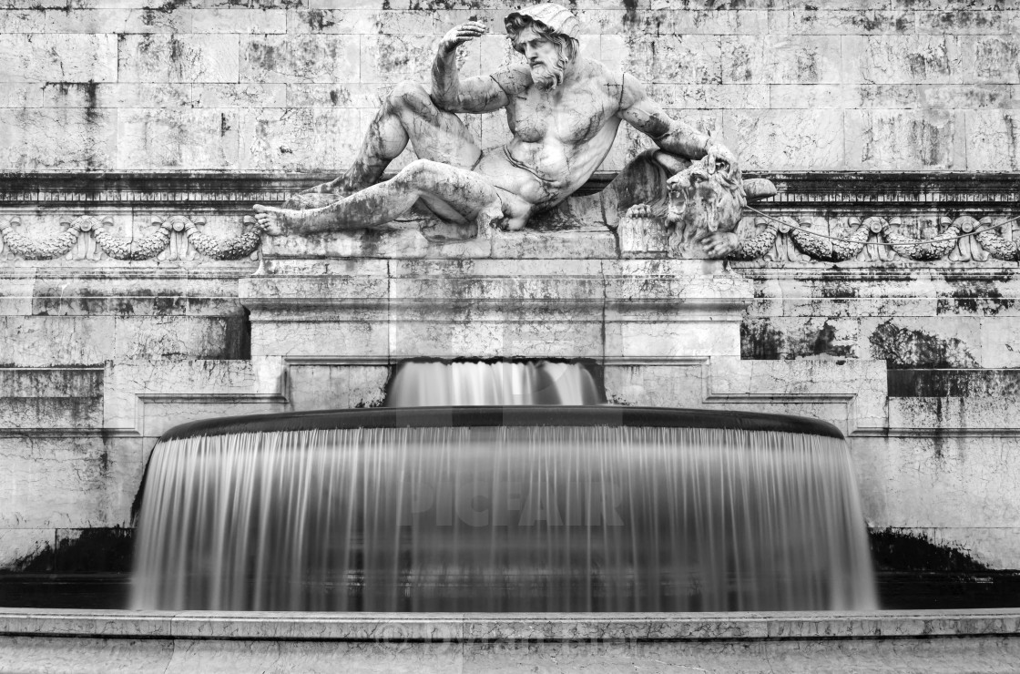 """The Fountain Of The Adriatic Sea 1"" stock image"