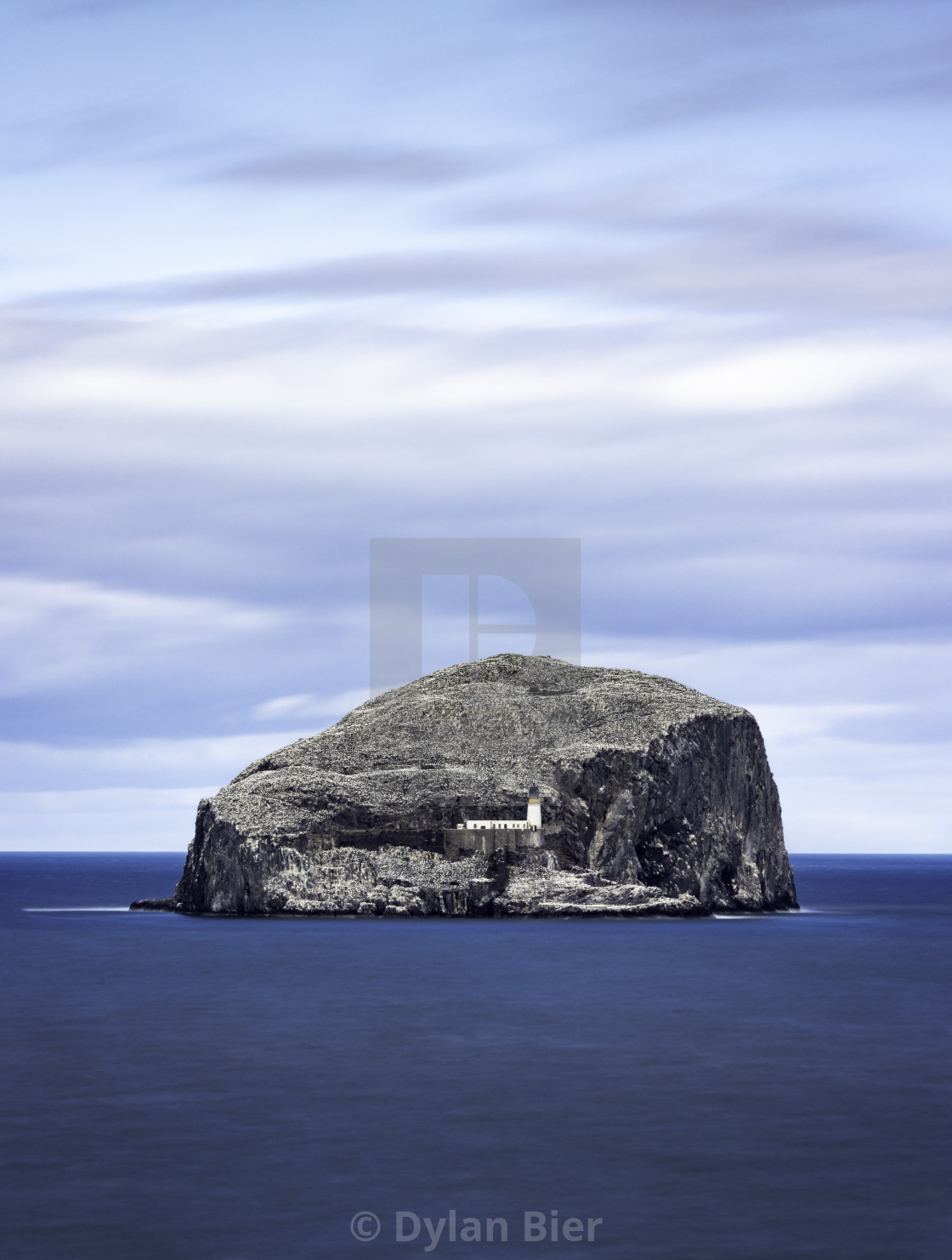 """The Bass Rock"" stock image"