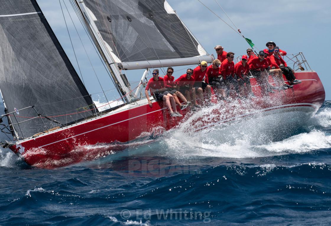 """Antigua Sailing Week"" stock image"