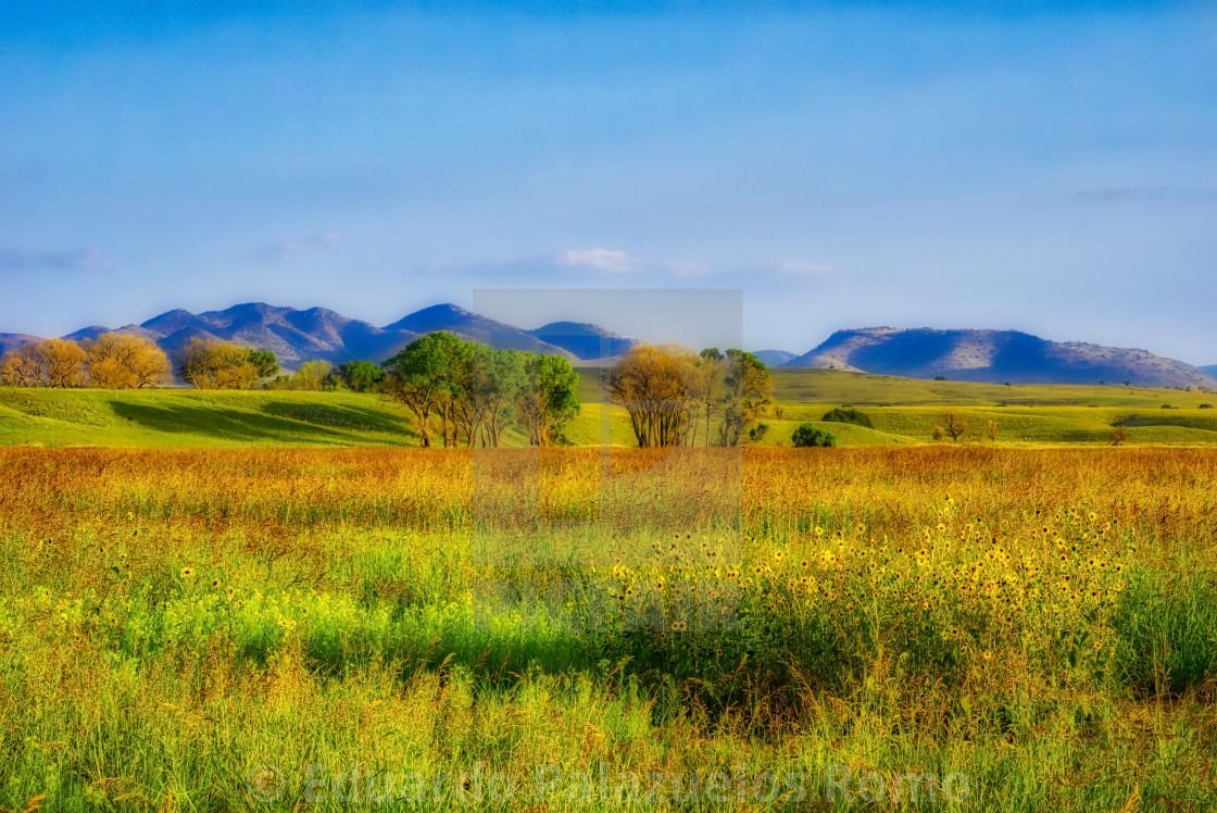 """San Rafael Valley #1"" stock image"