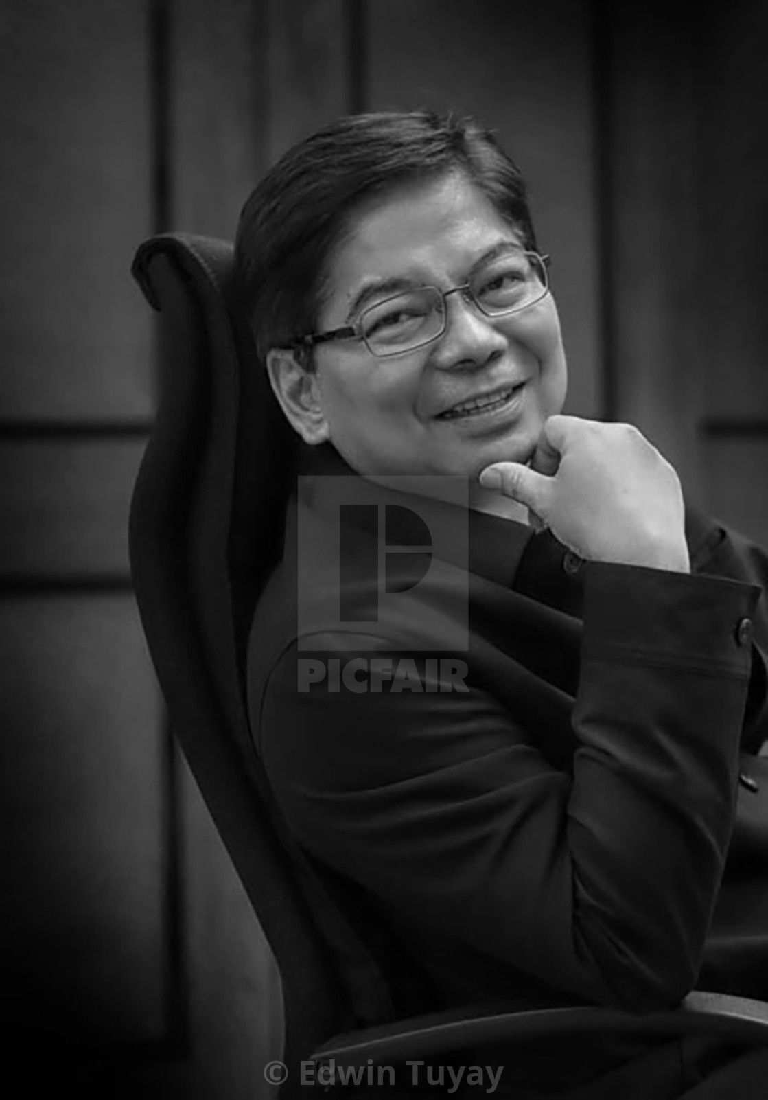 """Amando Tetangco, former Central Bank Governor, Philippines."" stock image"