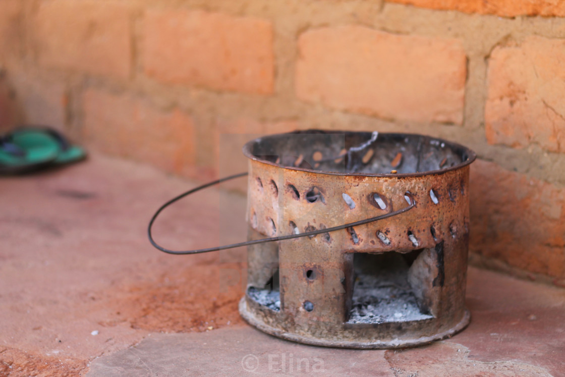 """African stove"" stock image"