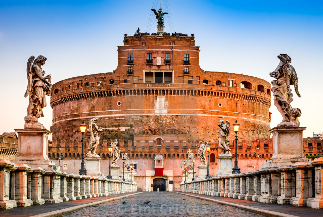 """""""Rome, Italy - Castle Sant Angelo"""" stock image"""