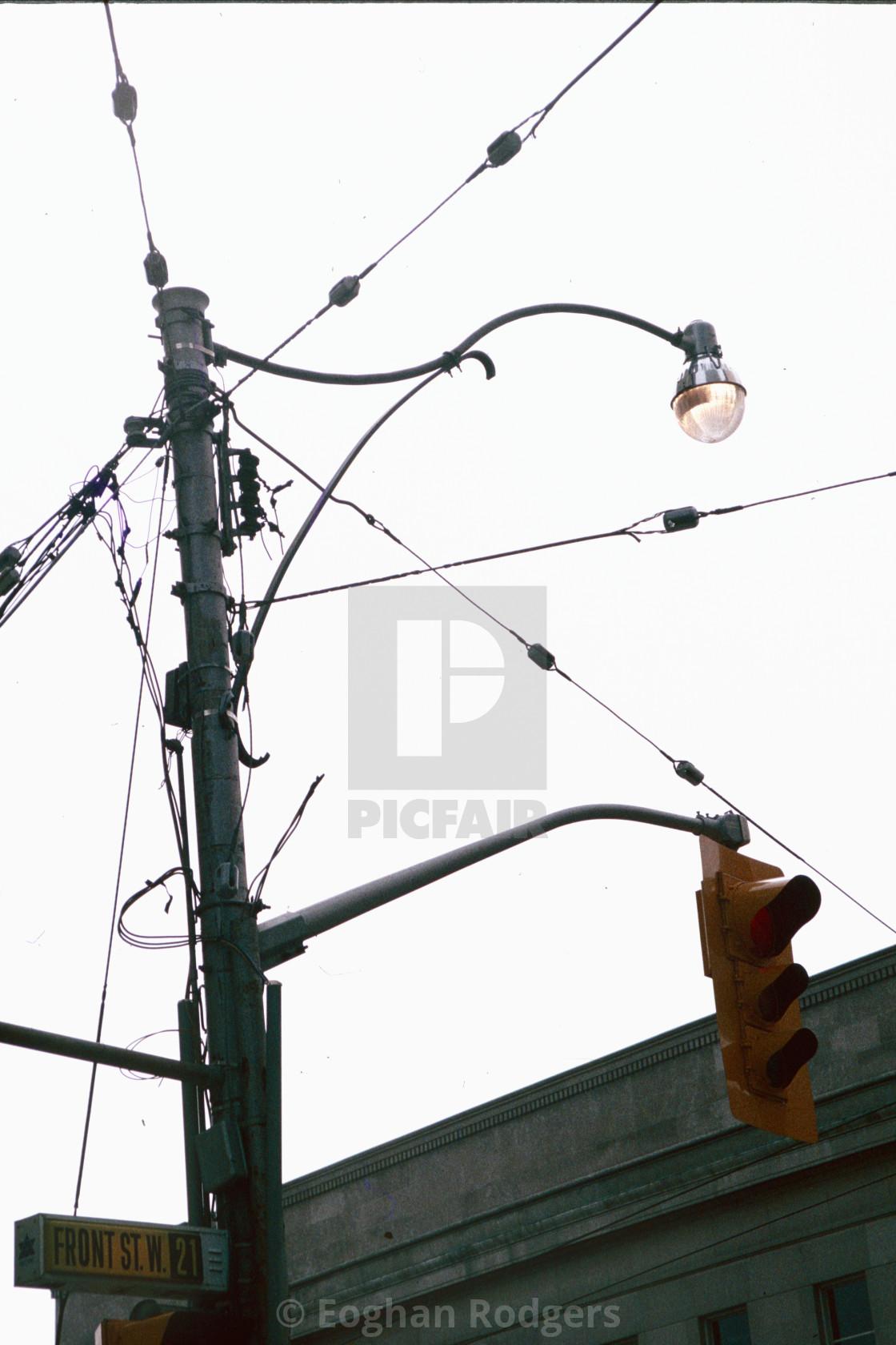 """Street lamp"" stock image"