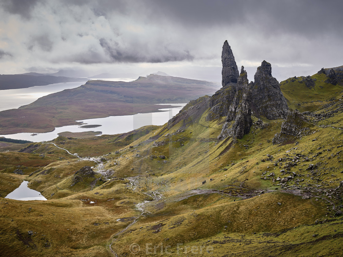 """The Old Man of Storr, Isle of Skye, Scotland"" stock image"