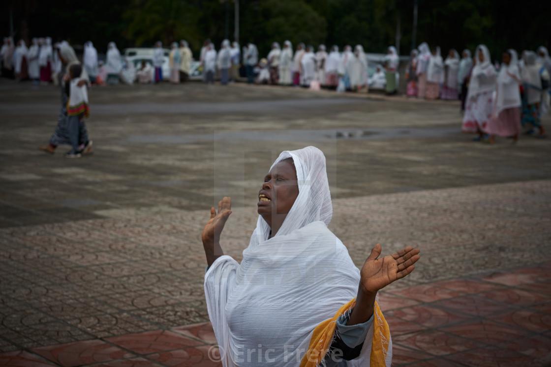 """""""Woman Praying"""" stock image"""