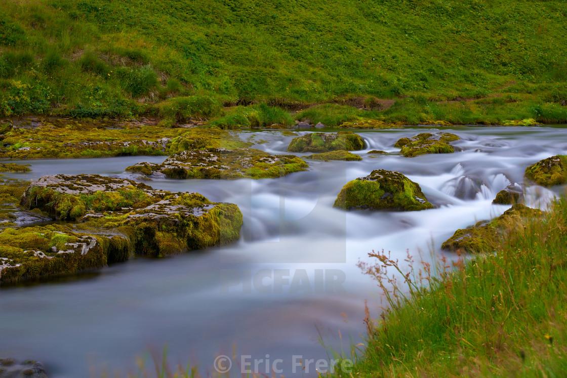 """Iceland Stream"" stock image"