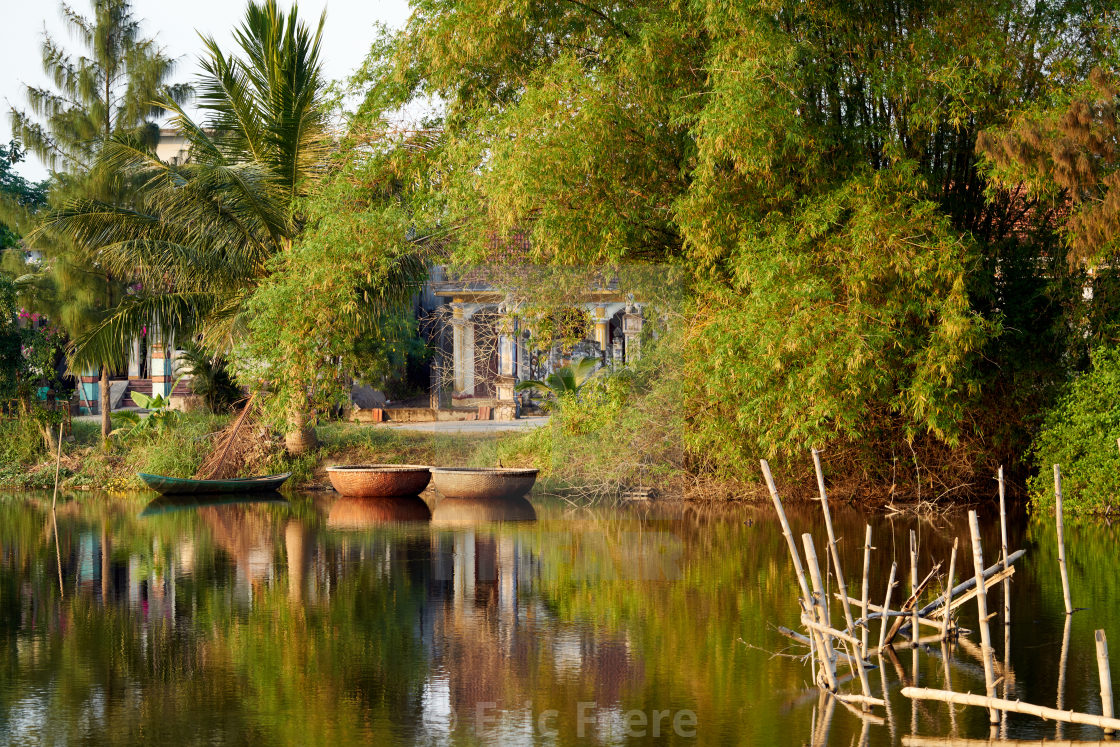 """""""Waterfront Home, Hội An"""" stock image"""