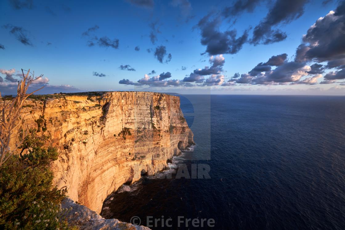 """Ta' Cenc Cliffs"" stock image"