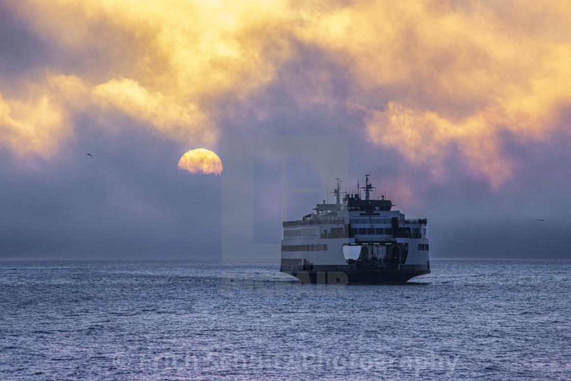 """Kingston Sunrise"" stock image"