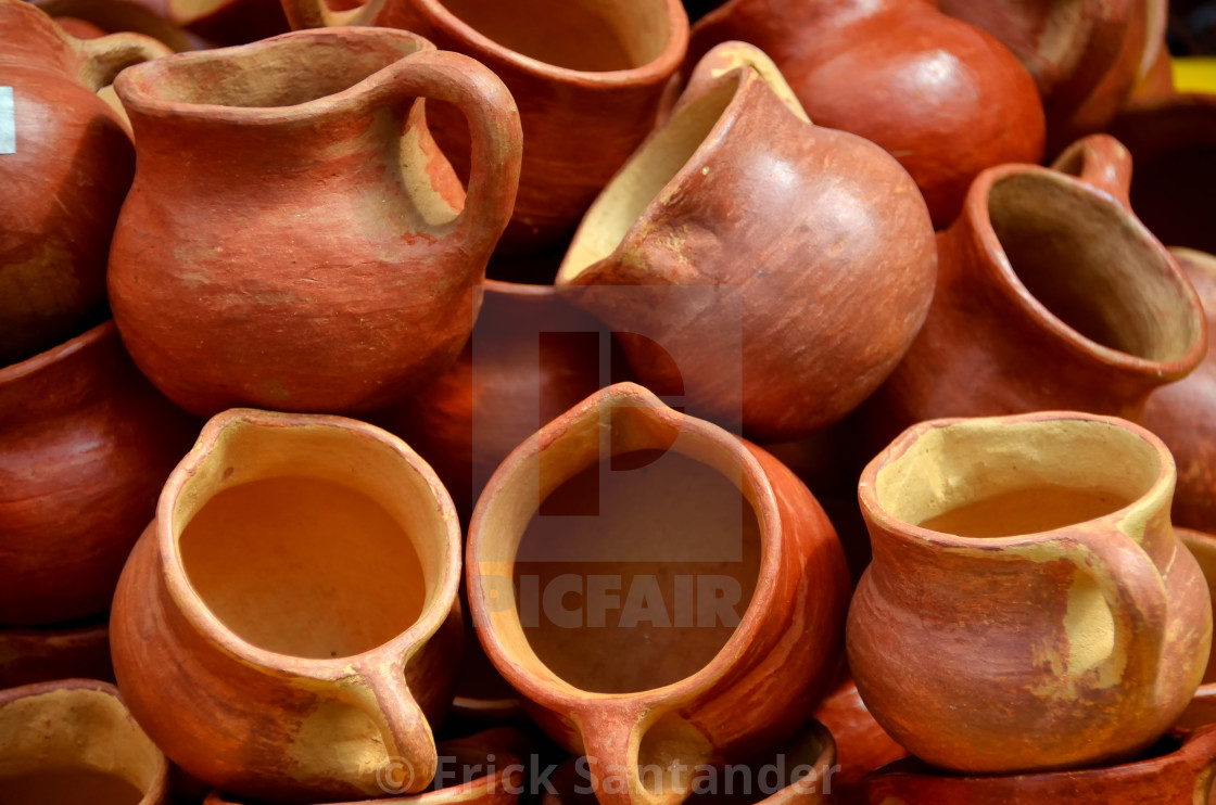 """""""Potters clay"""" stock image"""