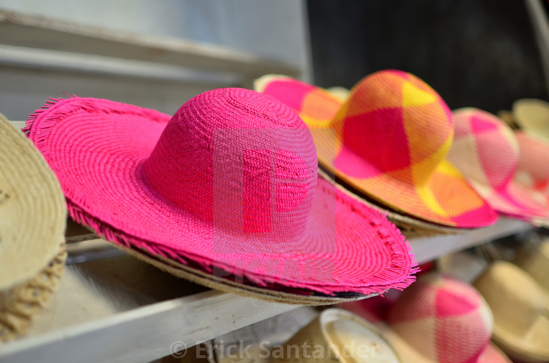 """Wicker hat"" stock image"