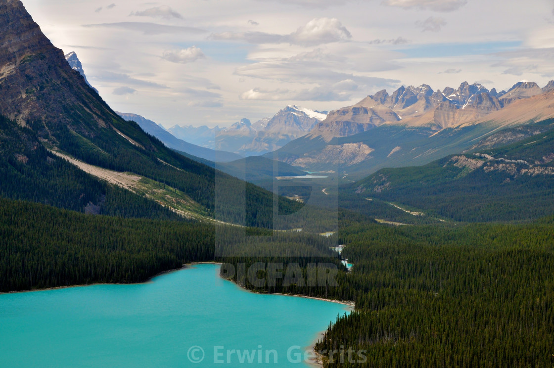 """Peyto Lake"" stock image"