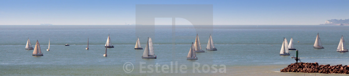 """Regatta banner"" stock image"