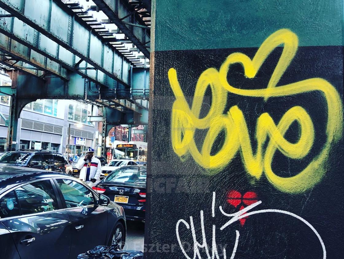 """Brooklyn love"" stock image"
