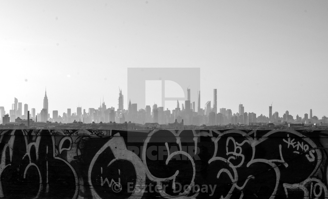 """New York skyline, 2020"" stock image"