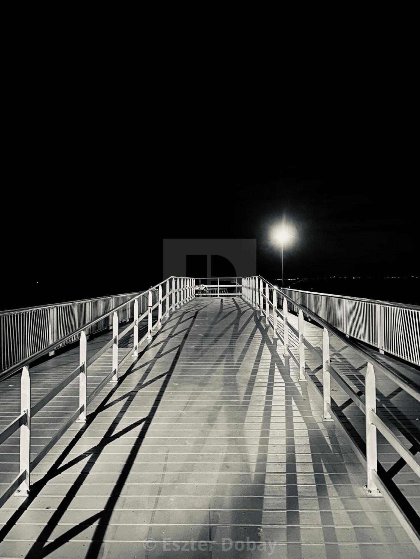 """""""Empty Coney Island II. NY, 2020"""" stock image"""