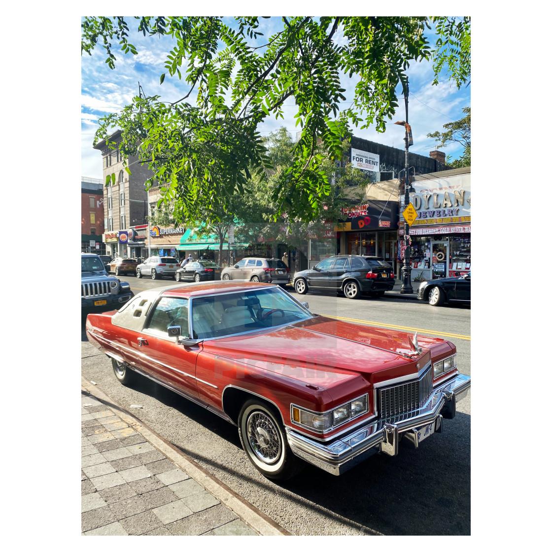 """Cadillac Coup de Ville 2020. 1/5"" stock image"