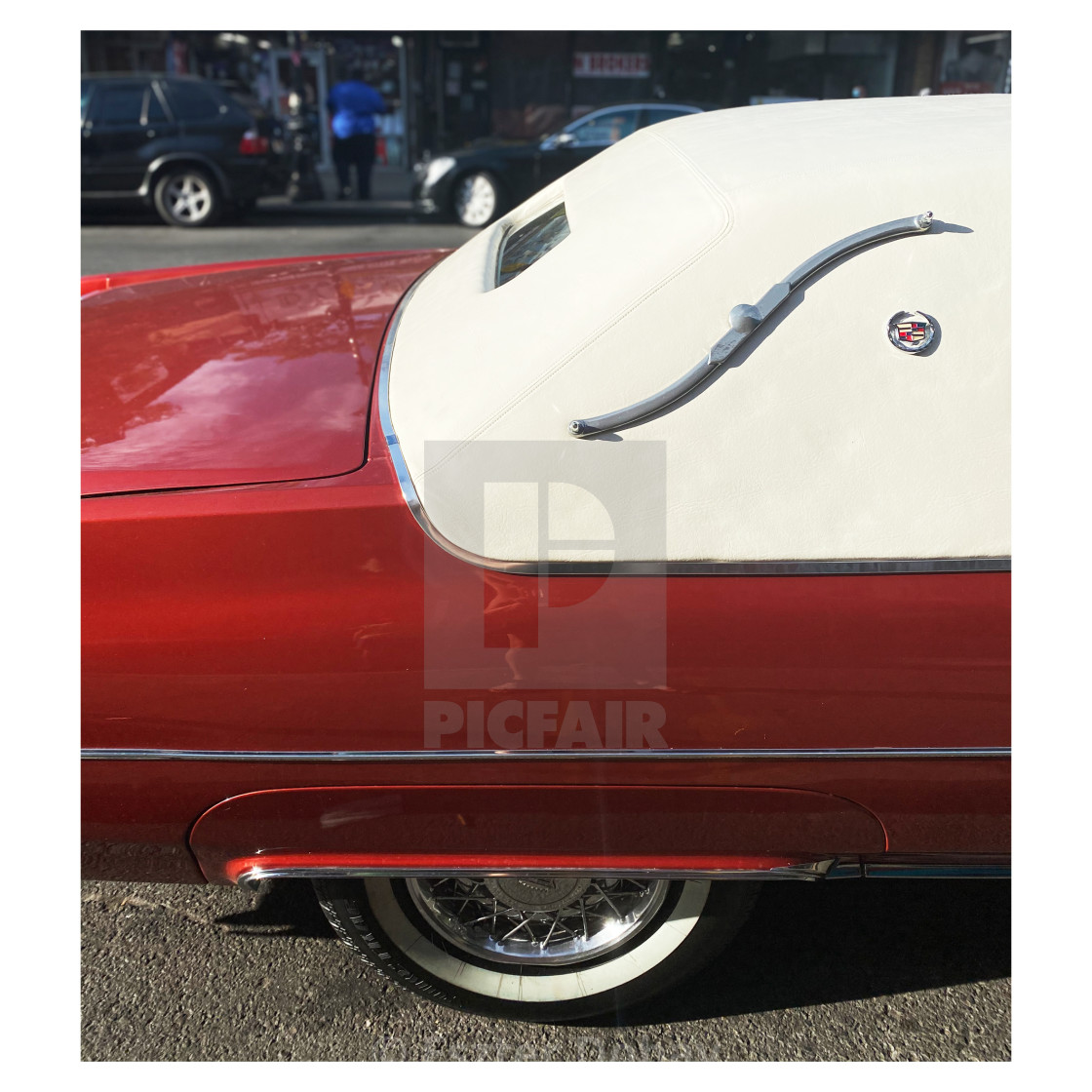 """Cadillac Coup de Ville 2020. 4/5"" stock image"