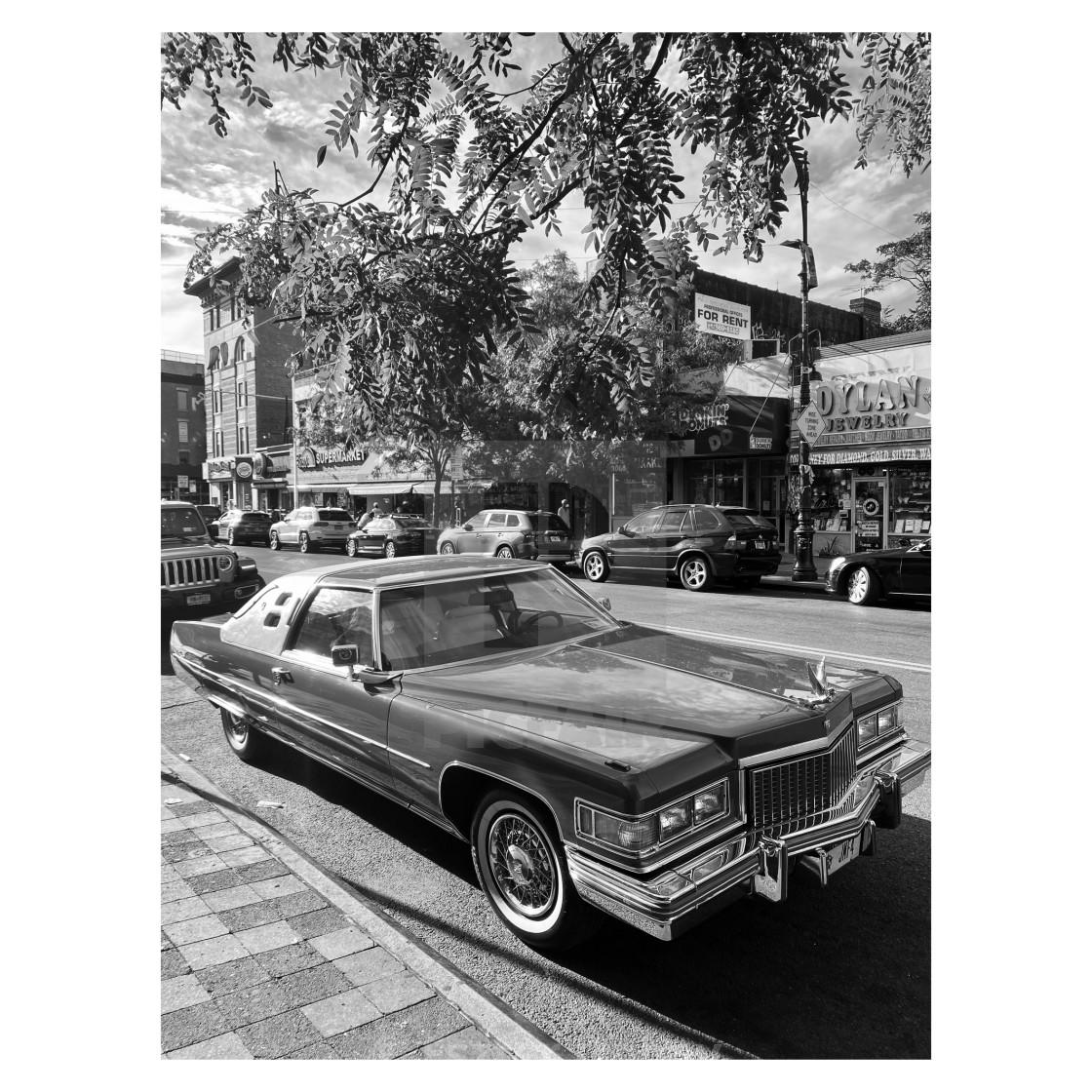 """Cadillac Coup de Ville, 2020, NY. 1/5"" stock image"