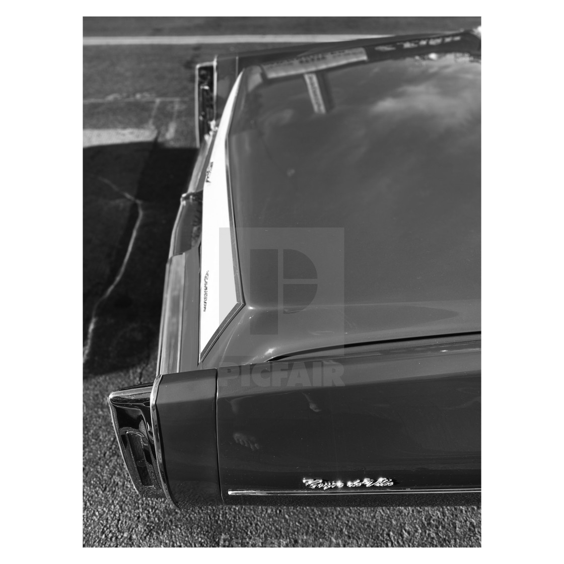 """Cadillac Coup de Ville, 2020, NY. 4/5"" stock image"