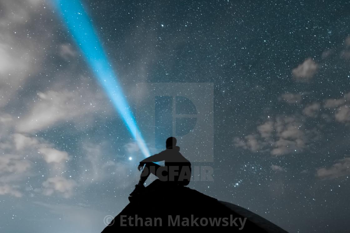 """Interstellar Search"" stock image"
