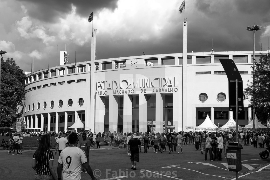 """Football stadium"" stock image"