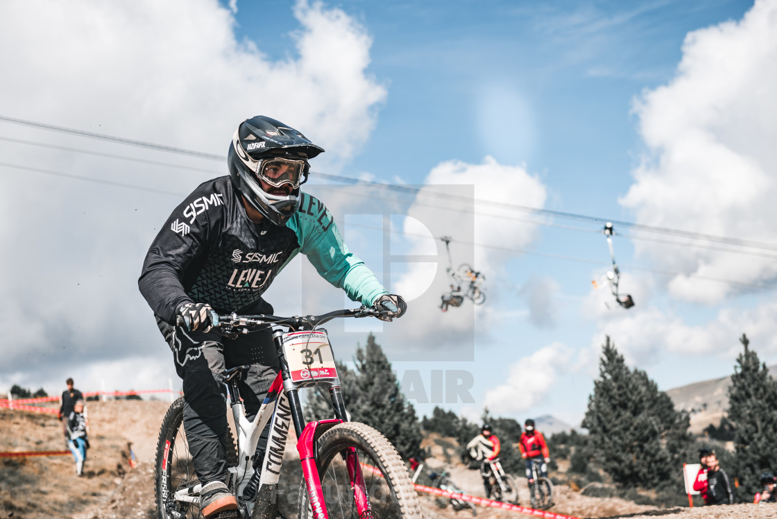 """""""VallNord DH CUP 21"""" stock image"""