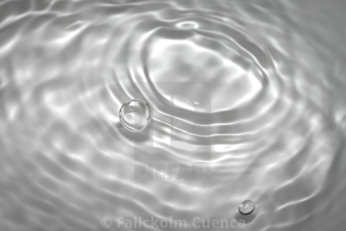 """""""Droplet of Water"""" stock image"""