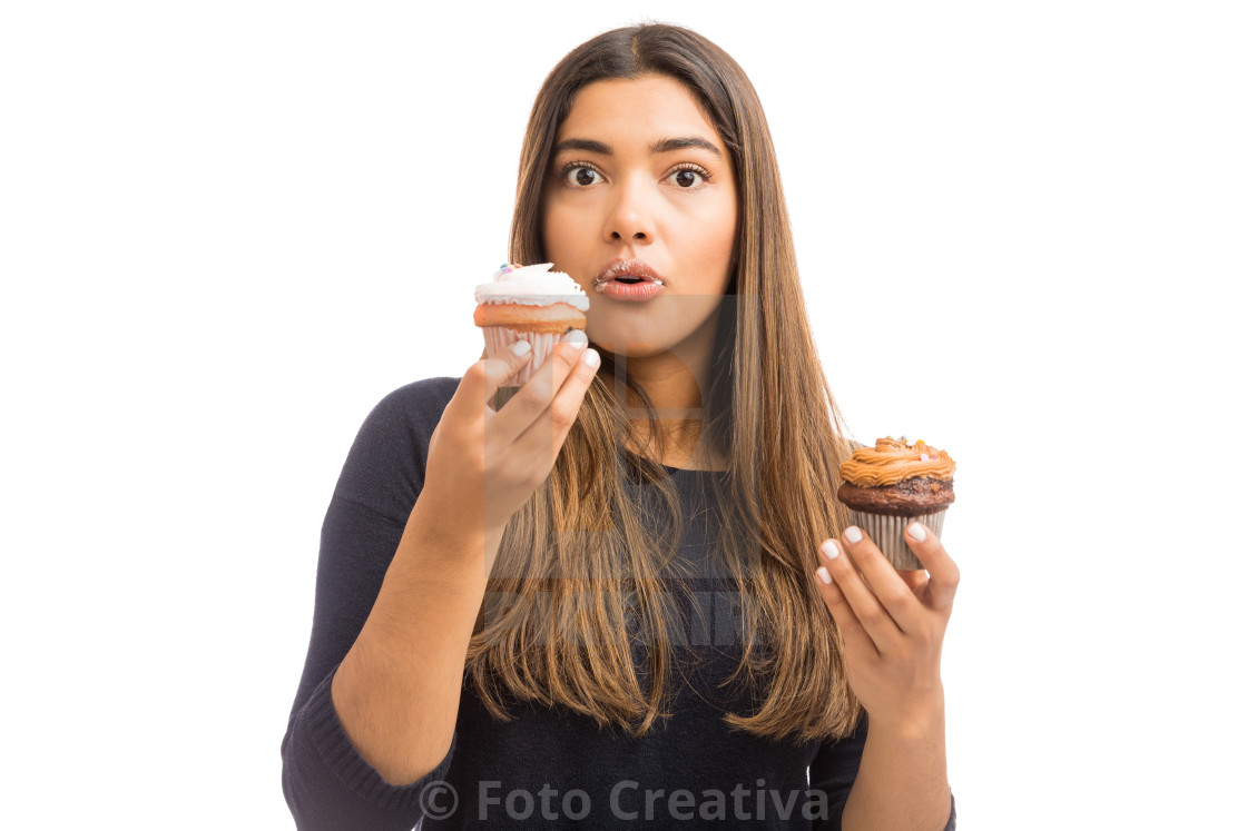 """Sweet Food Surprised You With Its Taste"" stock image"