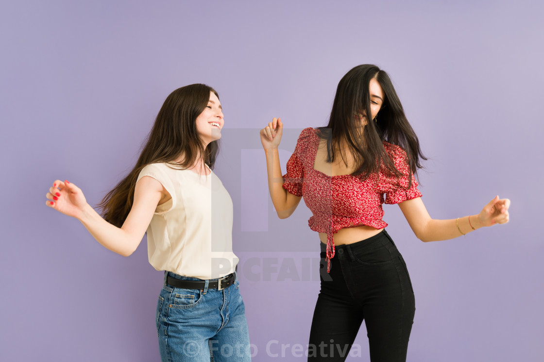 """We always have the best fun time together"" stock image"