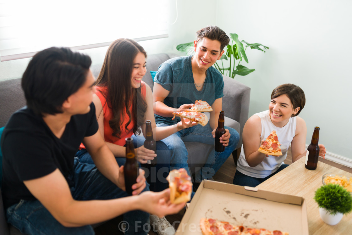 """""""My best friends always make me laugh"""" stock image"""